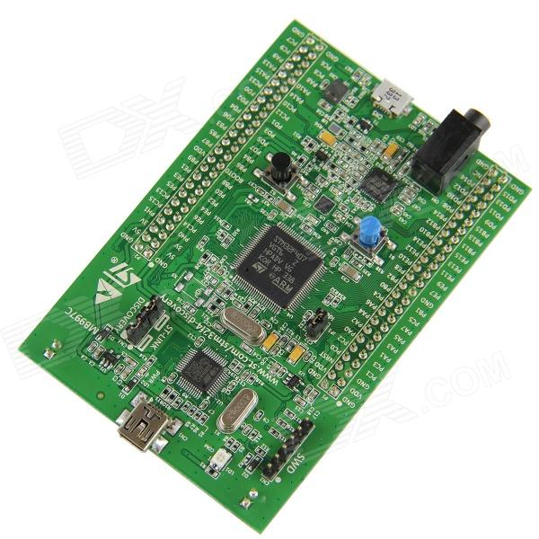 STM32 F4 Discovery STM32F4 Development Board w/ ST-LINK/V2 - Green module stm32 discovery m24lr discovery m24lr stm32 board powered by rfid stm8l152 and stm32f103 onboard