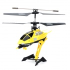 KAI DENG D-01 USB Rechargeable 3.5-CH R/C Helicopter w/ Gyroscope - Yellow