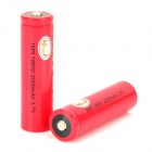 "MKJ 18650 3.7V ""2000mAh"" Rechargeable 18650 Li-ion Batteries - Red (2 PCS)"