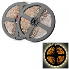 96W 2500LM 3200K Warm White 600-3528 SMD LED Decorative Strip Light - White + Yellow (10m)