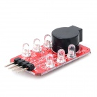 2-3S Lithium Battery Low Voltage Alarm Module