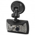 "AK-D3 2.7"" TFT LCD 1/4 CMOS 5.0MP Car DVR w/ 6-IR LED / Mic / Mini HDMI / TF / G-Sensor - Black"