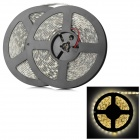 144W 3200K 4500lm 600-5050 SMD LED Warm White Decorative Light Strip - White + Yellow (10m)