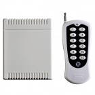 110.K12DC-X+110.12-D1 315MHz / 433MHz Wireless 12 Keys Remote Single Controller - White (1 x CR123A)