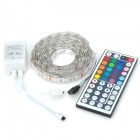 Waterproof 12W 400lm 120-5050 SMD LED RGB Decorative Light Strip - White (2m / 12V)
