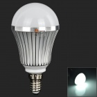 LeXing E14 7W 540lm 14-SMD 5730 LED White Light Bulb (AC 85~265V)