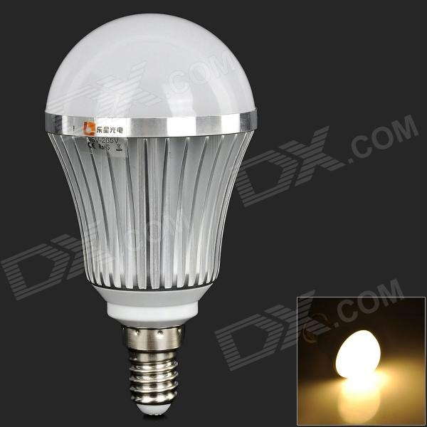 LeXing E14 7W 540lm 14-SMD 5730 LED Warm White Light Bulb (AC 85~265V) lexing lx qp 20 e14 6w 470lm 3500k 15 5730 smd led warm white light dimmable lamp ac 220 240v