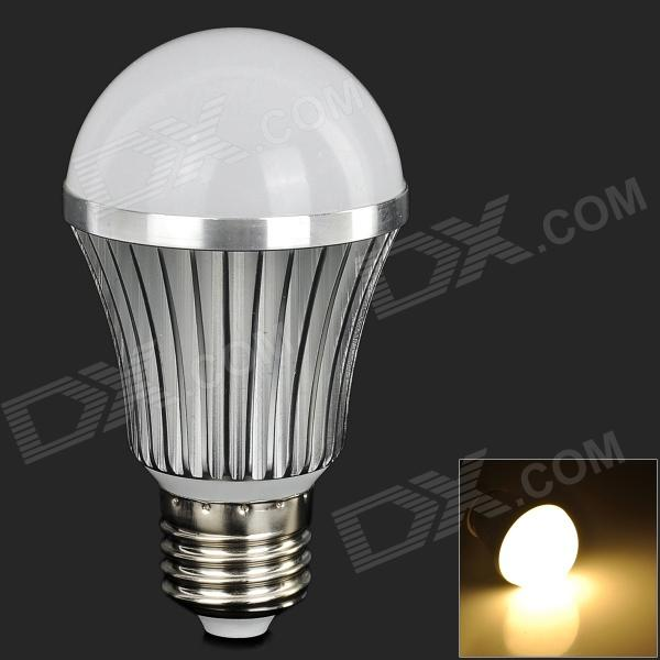 LeXing LX-QP-15 E27 7W 550lm 14-SMD 5730 LED Warm White Light Bulb (AC 85~265V) lexing lx qp 20 e14 6w 470lm 3500k 15 5730 smd led warm white light dimmable lamp ac 220 240v