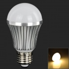 LeXing LX-QP-15 E27 7W 550lm 14-SMD 5730 LED Warm White Light Bulb (AC 85~265V)