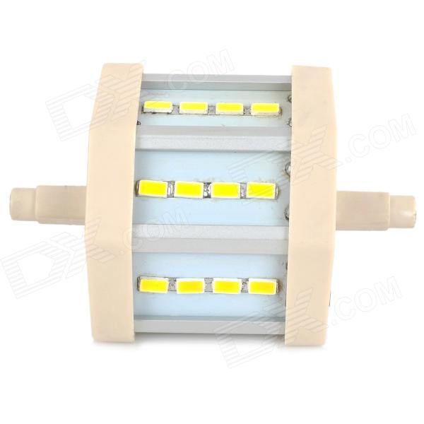 LeXing R7S 5W 410lm 12-SMD 5730 LED Warm White Light Project Lamp (AC 85~265V) r7s 15w 5050 smd led white light spotlight project lamp ac 85 265v