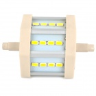 LeXing R7S 5W 410lm 12-SMD 5730 LED Warm White Light Project Lamp (AC 85~265V)