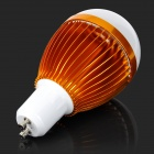 JRLED GU10 7W 530lm 6500K 14-5730 SMD LED White Light Bulb - Golden + White (AC 85~265V)
