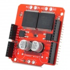30A Motor Driving Expansion Board for Arduino - Red + Black (9~16V)