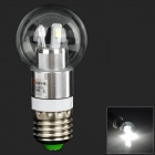 LeXing E27 3W 200lm 6-SMD 5730 ampoule LED blanche (AC 85 ~ 265V)