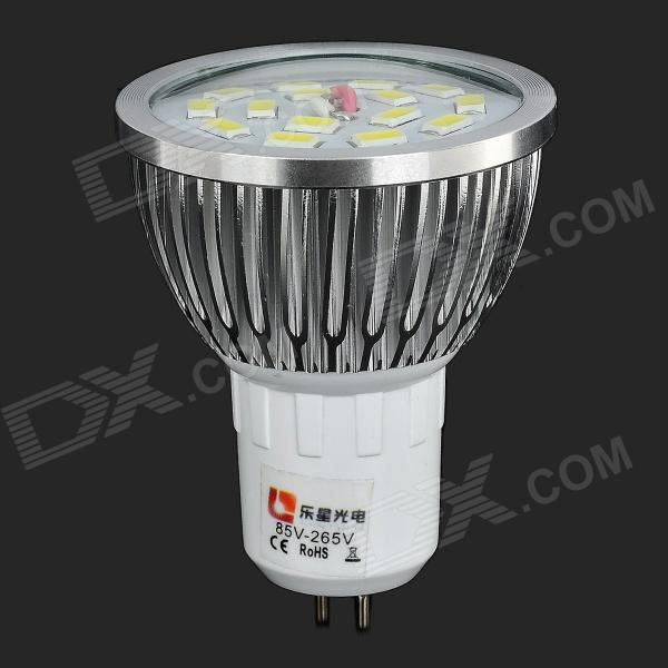 lexing MR16 G5.3 6.5W 550lm 15-LED luz de punto blanco frío (AC 85 ~ 265V)