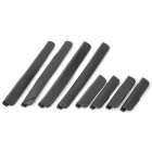 ABS + Rubber Car Door Bumper Strips w/ 3M Adhesive Tapes - Black