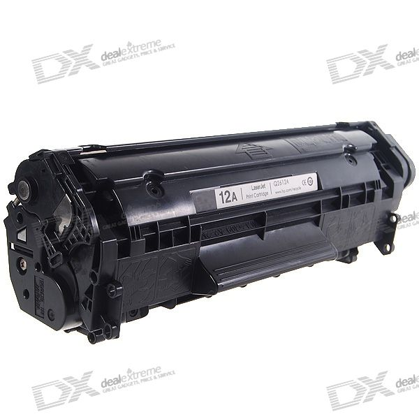 Q2612A Compatible Printer Black Cartridge for HP LJ2300/3380 + More LaserJet Printers