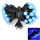 Kakashi PL-10 8W 300lm 50-LED Blue String Ball Light (AC 220V / 5m / EU Plug)