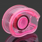 MI-661 Mini Plastic Tape Dispenser w/ Tapes - Pink