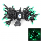 Kakashi PL-03 4W 300lm 50-LED Green String Light (AC 220V / 5m / EU Plug)