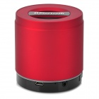 Q2 Portable 3W Bluetooth V2.1 + EDR Speaker w/ Micro USB / TF / Mic / 3.5mm Jack - Red