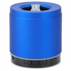 Q2 Portable 3W Bluetooth V2.1 + EDR Speaker w/ Micro USB / TF / Mic / 3.5mm Jack - Blue