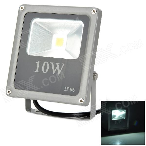 Lexing LX-TGD-1 10W 550lm 3500K Warm White LED Spotlight - Black + Silver Grey (AC 85~265V)