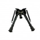 "ACCU 6"" Retractable Aluminum Alloy Tactical Spring Loaded Bipod Rifle Stand for M4 / M16 (Max. 80Kg)"