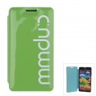 Stylish MM Color Series Jelly Bubble Protective Case Cover for Samsung Galaxy Note 3 N9000 - Green