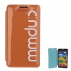Stilvolle MM Color Series Jelly Bubble-Case Schutzhülle für Samsung Galaxy Note N9000 3 - Orange