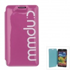 Stylish MM Color Series Jelly Bubble Protective Case for Samsung Galaxy Note 3 N9000 - Deep Pink