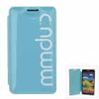 Stylish MM Color Series Jelly Bubble Protective Case Cover for Samsung Galaxy Note 3 N9000 - Blue