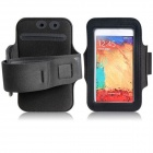Protective Neoprene Sports Armband for Samsung Galaxy Note 3 N9000 - Black