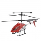 Mini Rechargeable 2-CH IR Remote Controlled R/C Helicopter - Red + Black