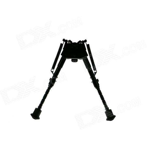 ACCU 20.5cm Max. Height Universal Aluminium Alloy Bipod - Black