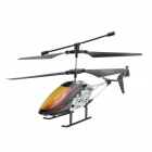 Mini Rechargeable 2-CH IR Remote Controlled R/C Helicopter - Black + Multi-Color