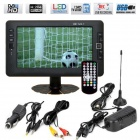 9inch Portable LED TV / DVB-T MPEG4 PVR Television