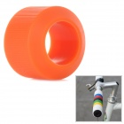 OQsport DIY Cool Bike Silicone Handlebar Grip Cover - Orange