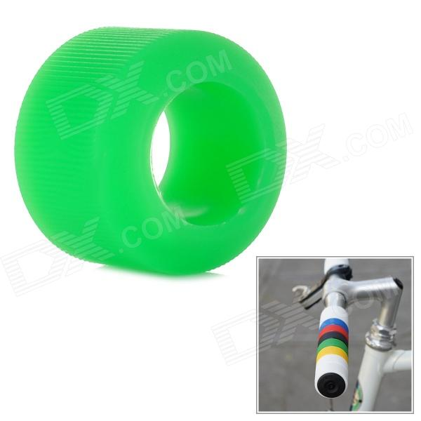 OQsport DIY Cool Bike Silicone Handlebar Grip Cover - Green