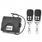 Leadway LOCK10 Universal Car Remote Keyless Entry w/ Trunk Release / Indicator - Black (10~14V)