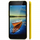 "M Pai 809T MTK6582 Quad Core Android 4.3 WCDMA Bar Phone w/ 5.0"" / ROM 4GB / GPS - Yellow"