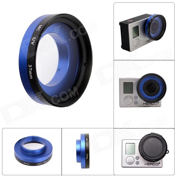 Fat Cat A-MC Professional High Transmittance 37mm FPV Protective MCUV Lens for Gopro Hero 4/3+ / Hero3