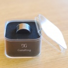 GalaRing G1 Ring with NFC for Smart Phone / Tablet PC / Unlock Doors - Black Grey + Silver (Size L)