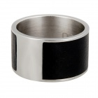 GalaRing G1 Smart NFC Ring for Smart Phone / Tablet PC / Unlock Doors - Black Grey + Silver (Size L)