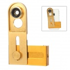 Universal Cellhone Lens Clip + 0.67X Wide + Macro Lens + 180 Degrees Fish Eye Lens - Golden
