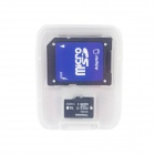 TOSHIBA Micro SDHC TF Card w/ SD Adapter - Black + White (16GB / Class10)