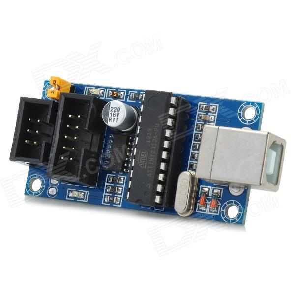 Avr microcontroller usbtinyisp downloader usb