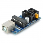 120102 AVR Microcontrolador USBtinyISP Downloader Interfaz USB para Arduino - Deep Blue