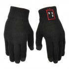 Bluetooth Handsfree Touch Control Keep Warm Gloves - Black