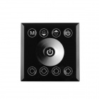Walang Ting Full-Color Touch LED Dimmer - Black (DC 12~24V)